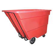 Bayhead 1.7 Cubic Yard Tilt Truck, Medium Duty, 1700 Lb. Capacity, Red
