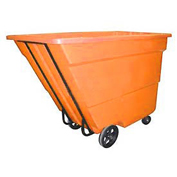 Bayhead 1.7 Cubic Yard Tilt Truck, Medium Duty, 1700 Lb. Capacity, Orange