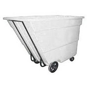Bayhead 1.7 Cubic Yard Tilt Truck, Medium Duty, 1700 Lb. Capacity, White