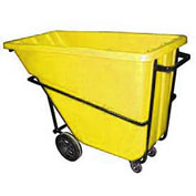 Bayhead 5/8 Cubic Yard Tilt Truck, Heavy Duty, 1500 Lb. Capacity, Yellow
