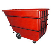 Bayhead 2.2 Cubic Yard Tilt Truck, Heavy Duty, 2500 Lb. Capacity, Red