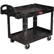 "RUBBERMAID Premium Universal Shelf Carts - 36""Wx24""D Shelf - 38-1/8""H - Black"
