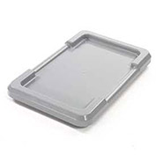 Gray Lid For Cross Stack And Nest Tote - Pkg Qty 6