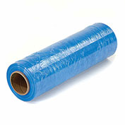 "Stretch Wrap 18"" x 1500' x 80 Gauge, Light Blue - Pkg Qty 4"