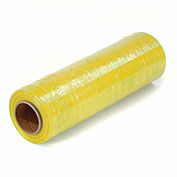 "80 Gauge Stretch Wrap, 18"" x 1500', Yellow - Pkg Qty 4"
