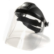 Polycarbonate Ratchet Headgear with Visor