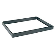 "Closed Base for 40""W 5 Drawer Flat File, Black"