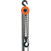 Manual Chain Hoist 10 Foot Lift 4,000 Pound Cap.