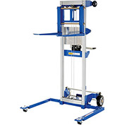VESTIL Winch Lift Truck - Adjustable Straddle - 400-Lb. Capacity