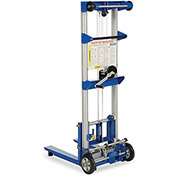 VESTIL Winch Lift Truck - Fixed Straddle - 500-Lb. Capacity