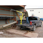 "VESTIL Jib Crane with Manual Lift - 32-3/4"" to 49-1/4"" Boom Length"