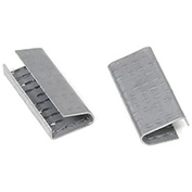 "Pac Strapping 1/2"" W Serrated Seals, Carton Of 1000"