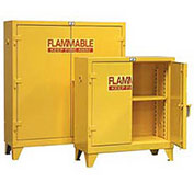 Heavy Duty Flammable Cabinet 30.5PSC, With Manual-Close Doors 30 Gallon