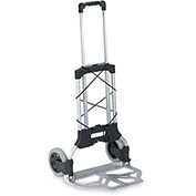 WESCO Folding Hand Trucks - Aluminum/Poly Superlite