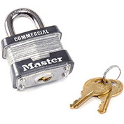 "Master Lock® Keyed Alike Padlock - 15/16"" Shackle - Pkg Qty 3"