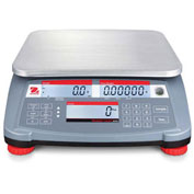 "Ohaus RC31P30 Ranger Count 3000 Compact Digital Counting Scale, 60lb x 0.002lb, 11-13/16"" x 8-7/8"""