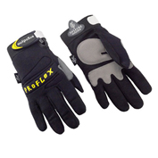 Ergodyne® 710 Full-Finger Mechanic's Gloves, Black, Medium, 1 Pair