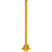 "Folding Bollard, 42""H, Yellow Powder Coat"