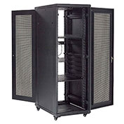 37U Network Server Data Rack Enclosure Cabinet with Vented Doors, Assembled