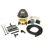 Shop-Vac® Wet Dry Vacuum, 12 Gallon Two Stage 2.5 Peak HP
