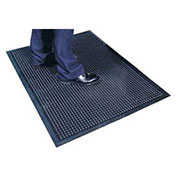 Apache Mills Cushion Step Mat Black, 36x48""