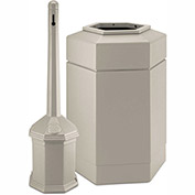 Commercial Zone Smoker'S Outpost Site Saver Combo, Plastic, Beige