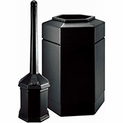 Commercial Zone Smoker'S Outpost Site Saver Combo, Plastic, Black