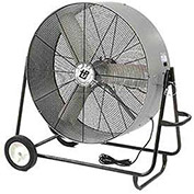 "TPI 42"" Portable Blower Fan Direct Drive Swivel Base 1/2 HP 15600 CFM"