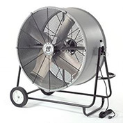 "42"" Portable Blower Fan, Belt Drive, Swivel Base, 3/4 HP, 18200 CFM"