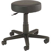 All Purpose Scooter Stool, Vinyl, Black