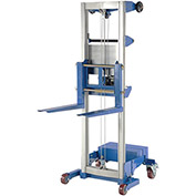 VESTIL Counterweight Base Aluminum Winch Lifts - 400-Lb. Capacity