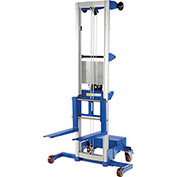 VESTIL Counterweight Base Aluminum Winch Lifts - 350-Lb. Capacity