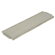"Aluminum Shelf for 16""W Narrow Aisle Platform Trucks"