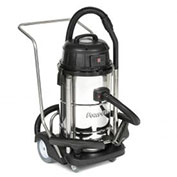 Powr-Flite PF53 Stainless Steel Wet Dry Vacuum 15 Gallon