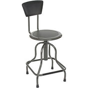 Diesel Stool With Back, High Base