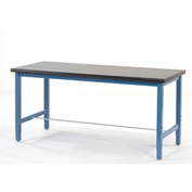 "Production Workbench - Phenolic Resin Safety Edge - Blue, 60""W x 30""D"