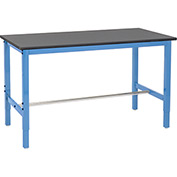 "Production Workbench - Phenolic Resin Safety Edge - Blue, 72""W x 30""D"