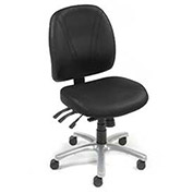 Ergonomic Anti-bacterial 8 Way Adjustable Chair - Black