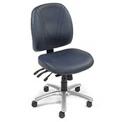 Ergonomic Anti-bacterial 8 Way Adjustable Chair - Blue
