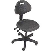 Puncture Proof Ergonomic Chair, Polyurethane Seat and Back