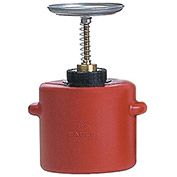 "EAGLE Poly Plunger Can - 7-3/4"" Dia.x13""H - 4-Quart Capacity"