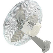 "TPI 24"" Washdown Rated Wall Mount Fan, 1/3 HP"