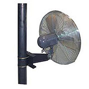 "TPI 30"" Washdown Rated Pole Mount Fan 1/3 HP 9350 CFM"