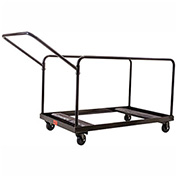 "Table Cart For 48"" and 60"" Round Folding Tables, 10 Table Capacity"