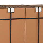 """2""""x2""""x3"""" Edge And Strap Protector, 0.225 Thickness, 600 Pack"""