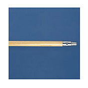 "60"" Metal-Tip Hardwood Broom Handle, Threaded End"