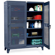 STRONG HOLD Ultra-Capacity Ventilated Cabinet - 60x24x78""