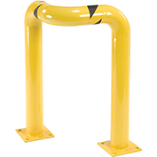 "Triple Elbow Corner Guards, Steel, 36""H X 24""L, Yellow"