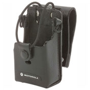 "Motorola Leather Case, 3"" Swivel, For RDX"