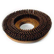 "Powr-Flite SF218 18"" Poly Shower Feed Brush With Clutch Plate For Carpet"